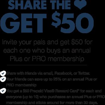 Get a $50 Visa Gift Card